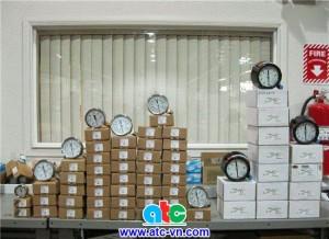 Đồng hồ đo áp suất Wika tại công ty ATC