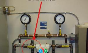 Đồng hồ áp đo suất nước bán cho một dự án