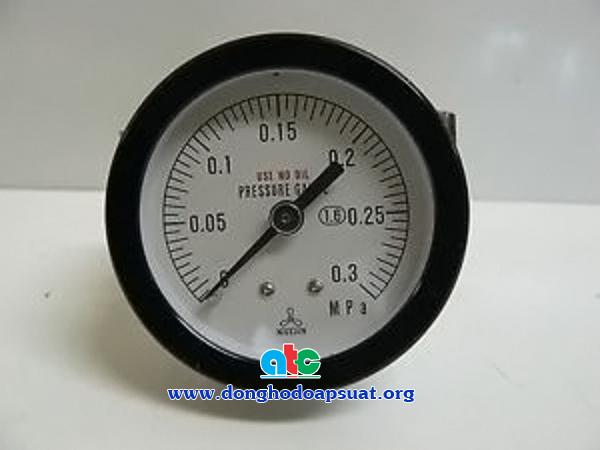Đồng hồ đo áp suất Nisshi loại không dầu