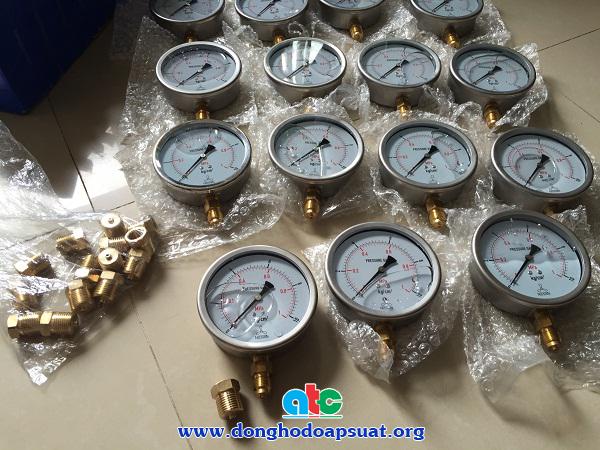 Chân chuyển ren đồng hồ đo áp suất từ 17mm sang 21mm