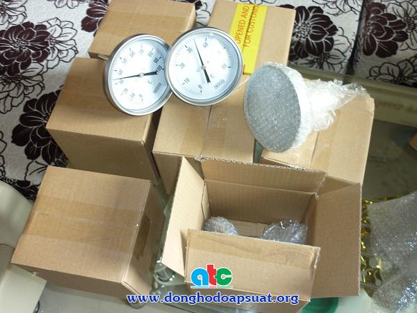 Hình ảnh đồng hồ nhiệt độ giao cho khách hàng đầu tháng 4