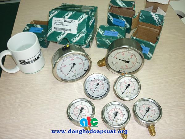 Đồng hồ đo áp suất Stauff (Đức)