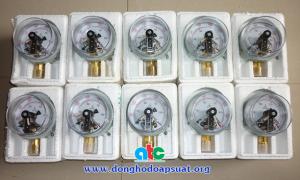 Đơn hàng đồng hồ áp suất có tiếp điểm điện đi Quảng Trị