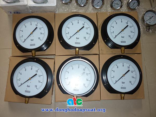 """Đồng hồ đo áp suất Wika có đường kính mặt lớn 200mm (8"""")"""