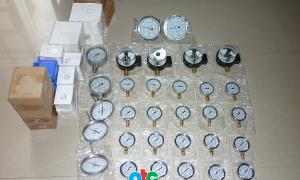 Các loại đồng hồ đo áp suất Badotherm giao cho công ty D.W ở Bình Phước