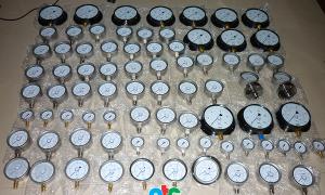 Hình ảnh các loại đồng hồ đo áp suất giao cho Cty SDCL Quảng Nam