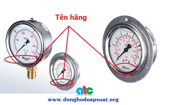 Đồng hồ đo áp suất Stauff - nhập khẩu Đức chính hãng