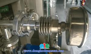 Đồng hồ đo áp suất màng kết hợp thiết bị làm mát cooling tower