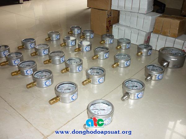 Đồng hồ đo áp suất đã được kiểm định bởi trung tâm nhà nước