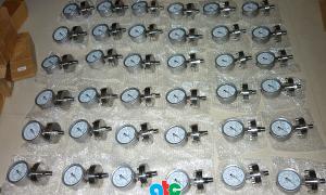 Một lô hàng đồng hồ đo áp suất màng giá trị cao ATC cung cấp