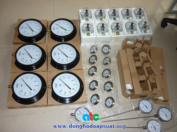 Đơn hàng thứ 8 về đồng hồ đo áp suất và nhiệt độ cho cty C.M