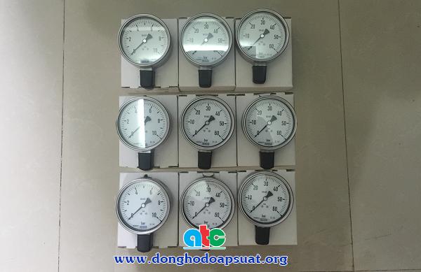Đồng hồ đo áp suất Wika, sản xuất tại Đức