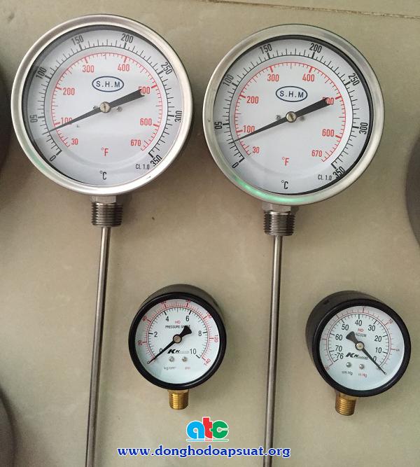 Đồng hồ đo nhiệt độ SHM chất lượng cao