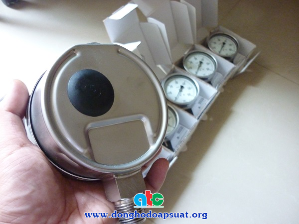 Nút cao su an toàn đồng hồ đo áp suất Wika - Đức