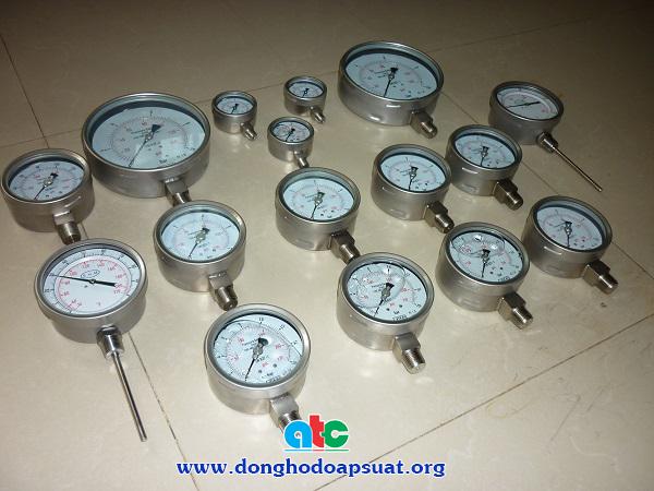 Đồng hồ áp suất không dầu