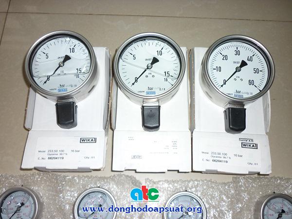 Đồng hồ đo áp suất Wika - Sản xuất tại Đức