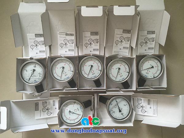 Đồng hồ đo áp suất Wika chính hãng nhập khẩu từ Đức