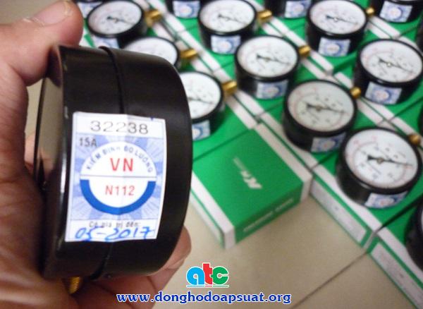 Tem kiểm định cho đồng hồ đo áp suất
