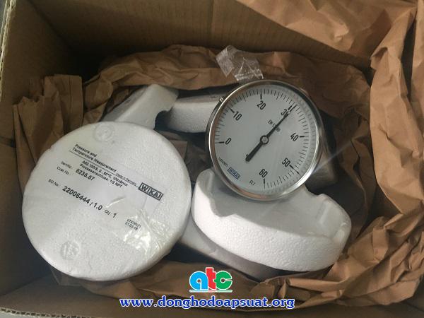 Đồng hồ đo nhiệt độ Wika dạng nhiệt kế lưỡng kim