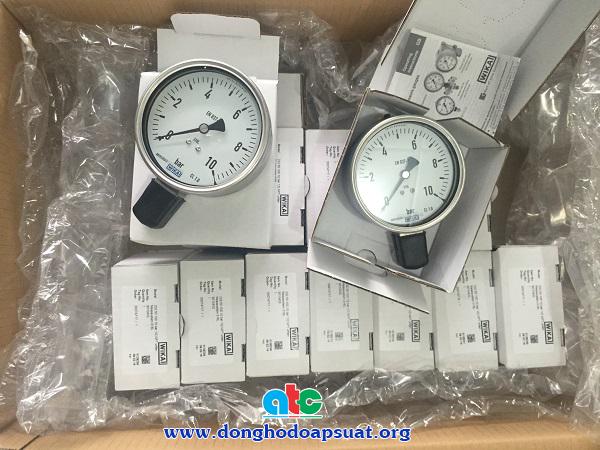 Đồng hồ đo áp suất Wika, áp kế số 1 thế giới