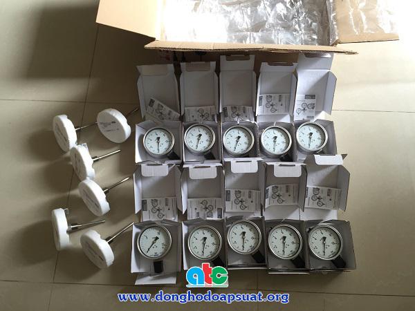 Bàn giao đồng hồ đo áp suất và đồng hồ đo nhiệt độ Wika - Đức