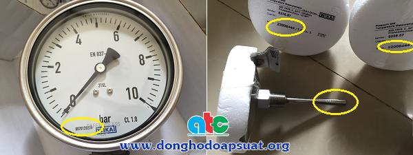 Part number của đồng hồ áp suất Wika và đồng hồ nhiệt độ Wika chính hãng Đức