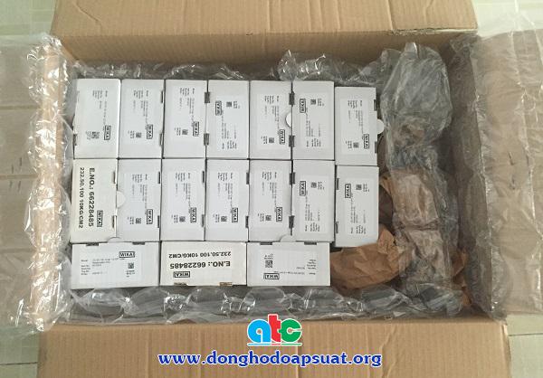 Đóng thùng đồng hồ đo áp suất Wika để giao hàng an toàn