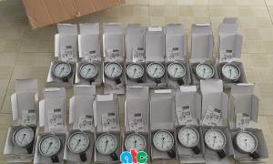 Đồng hồ đo áp suất Wika 232.50, inox 316L cung cấp cho khách hàng