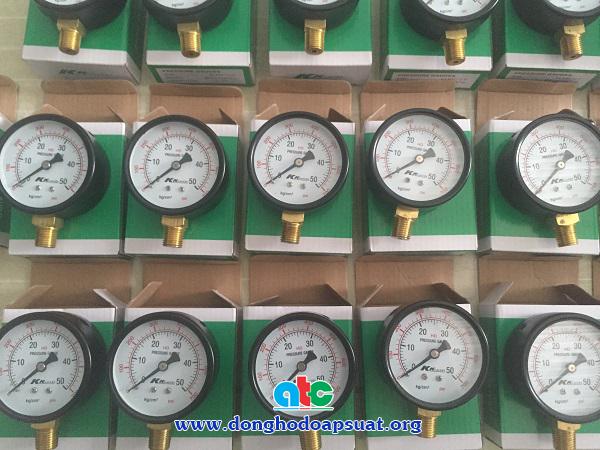 Đồng hồ đo áp suất KK Đài Loan 0-50kg/cm2