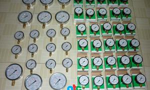 Bàn giao lô đồng hồ đo áp suất KK và các áp lế Badotherm cho công trình ở Hà Nội