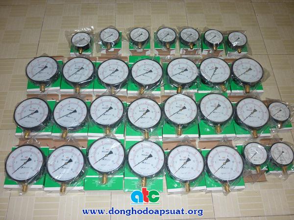 Đồng hồ đo áp suất KK - Made in Taiwan