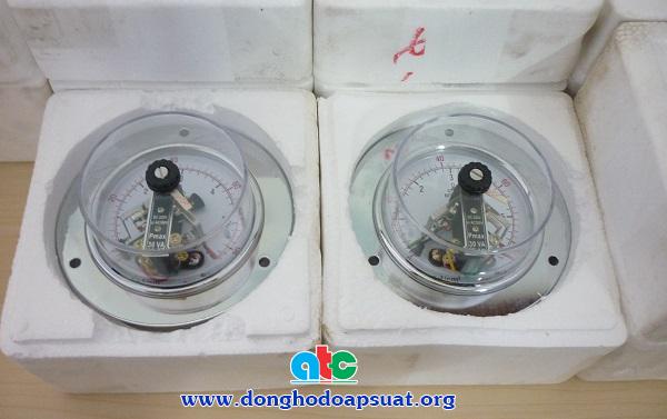 Cung cấp đồng hồ đo áp suất có tiếp điểm điện chất lượng cao