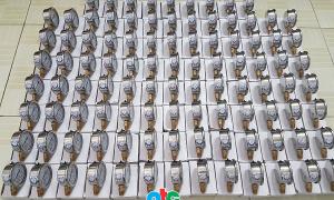 Đồng hồ đo áp suất Badotherm cap61 cho công trình Vinhomes Tân Cảng