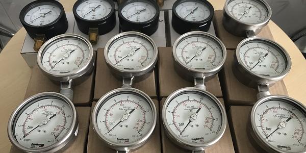 Dong ho do ap suat Fantinelli - Sản xuất tại Ý, đồng hồ áp suất chất lượng cao