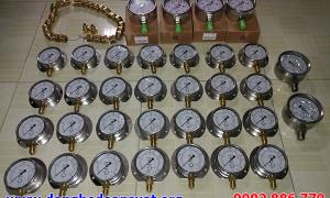 Đồng hồ đo áp suất Wise, Yamaki, Nishin, dong ho ap suat cấp cho Nhiệt Điện Quảng Ninh