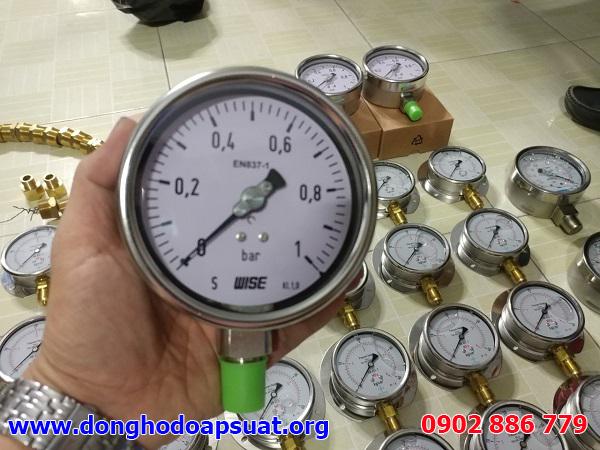 Đồng hồ đo áp suất Wise, nhập khẩu Hàn Quốc giá tốt