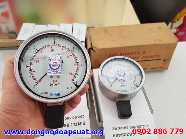 Đồng hồ đo áp suất Wika chính hãng được sản xuất 100% tại Đức