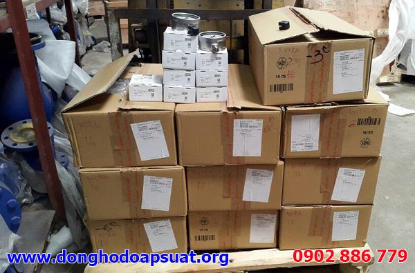 Những thùng hàng đồng hồ đo áp suất Wika được nhập về Việt Nam liên tục