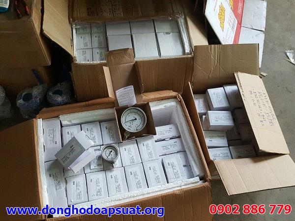 Nhiều model đồng hồ đo áp suất Wika có sẵn trong lô hàng