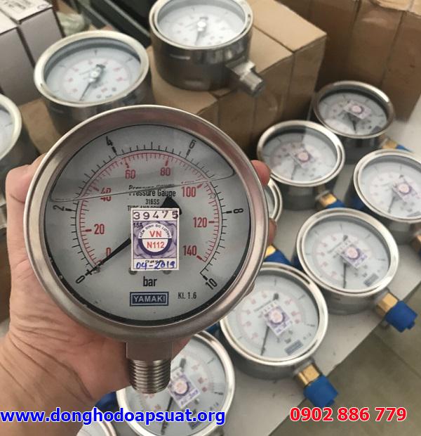 Giá đồng hồ áp suất cam kết rẻ nhất, bảo hành chu đáo 12 tháng