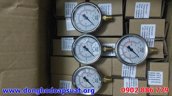 Đồng hồ đo áp suất Wika 212.53 giao cho nhà máy bia Sài Gòn