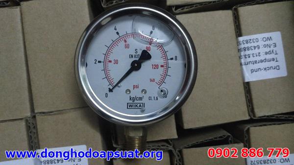 Đồng hồ đo áp suất Wika, dong ho ap suat chính hãng Germany 0-10kg/cm2