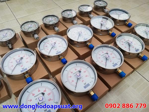 Bán đồng hồ đo áp suất Fantinelli và Yamaki cho công ty Toàn Cầu