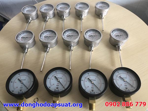 Đồng hồ đo áp suất thấp, hút chân không -100 mbar