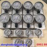 Đồng hồ đo áp suất Wika 232.50 có dầu, inox 316 đã kiểm định và giao hàng