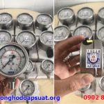 Đồng hồ đo áp suất Wika chính hãng Đức, model 232.50, mặt kính 63mm, chân thẳng