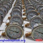 Đồng hồ đo áp suất nước Badotherm Holland phi 63mm, KI1.6 đã kiểm định