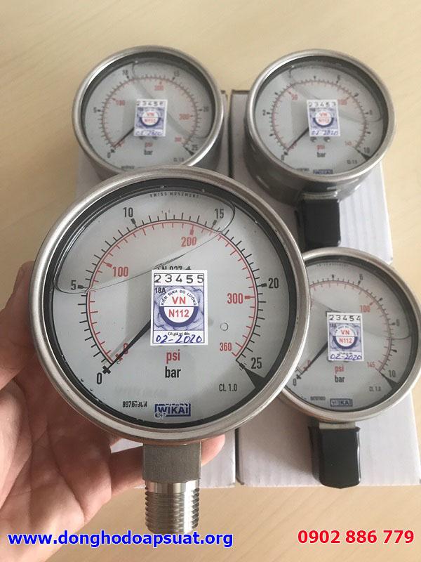 Đồng hồ áp suất Wika 232.50 made in Germany, giá rẻ từ Vĩnh Phát